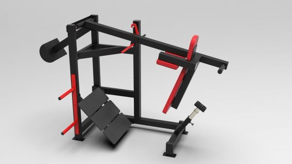 Pendulum Squat Machine