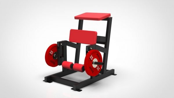 Plate Loaded ISO-Lateral Leg Curl Machine