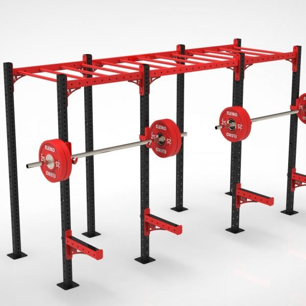 2 Bay Free Standing Monkey Bar Rig