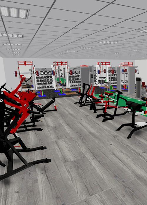 bespoke home gym design