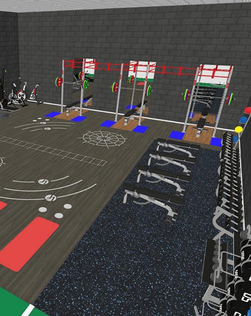 custom built gym equipment