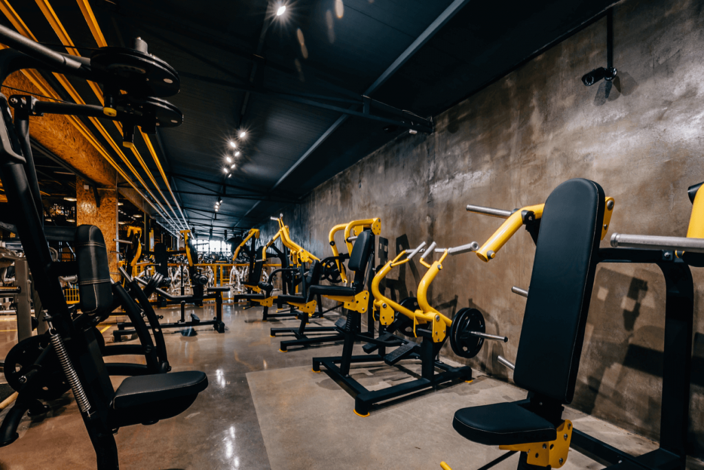 Manufacturing gym equipment