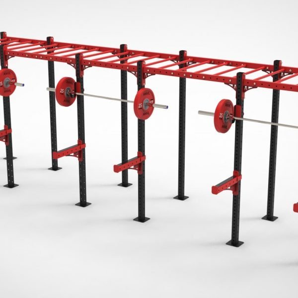 3 Bay Free Standing Monkey Bar Rig