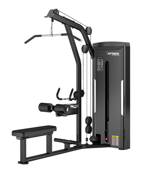 Attack Fitness Lat Pulldown / Low Row