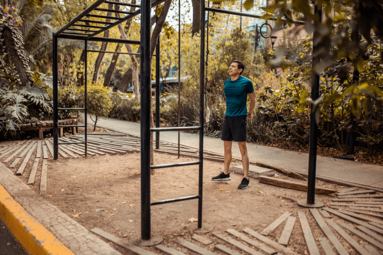 how to build a garden gym