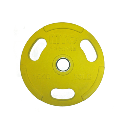 yellow olympic disc 15kg