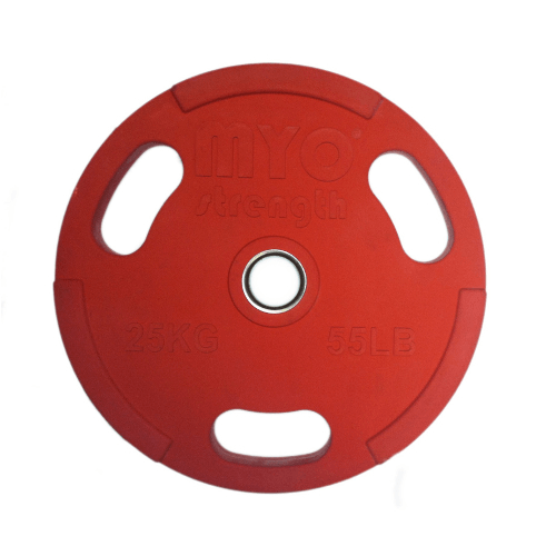 red olympic disc 25kg